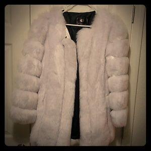 Snow White fur coat